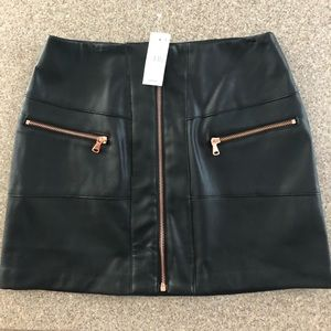Kendall and & Kylie Pac Sun faux leather skirt NWT